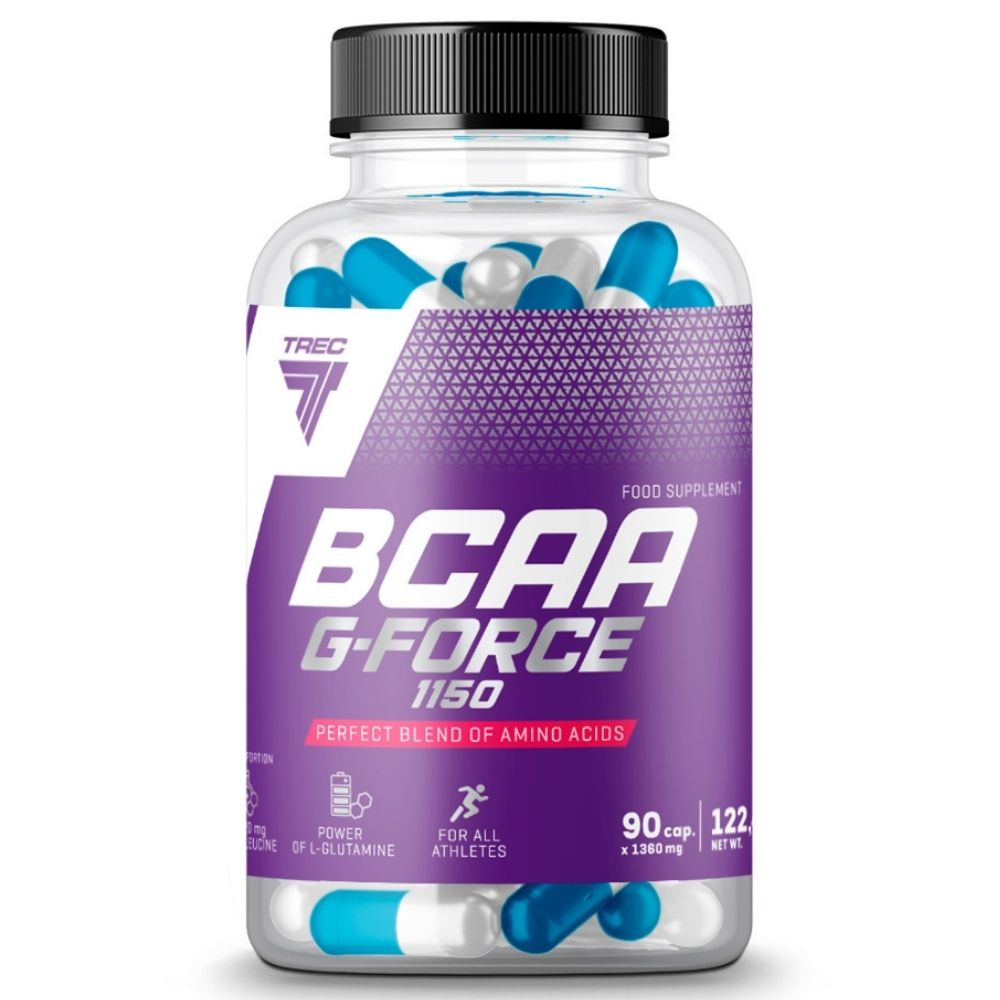 BCAA Trec Nutrition BCAA G-force 90 caps