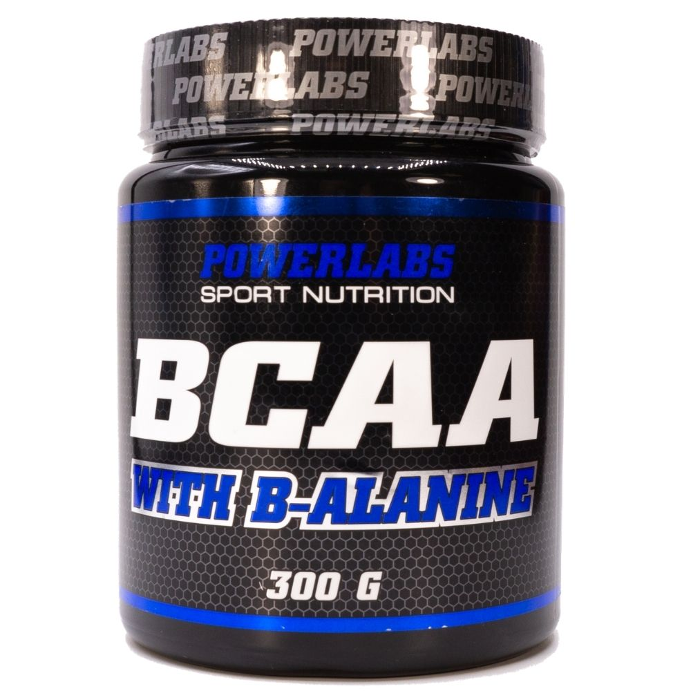 BCAA Powerlabs BCAA Beta-Alanine 300 g Ананас